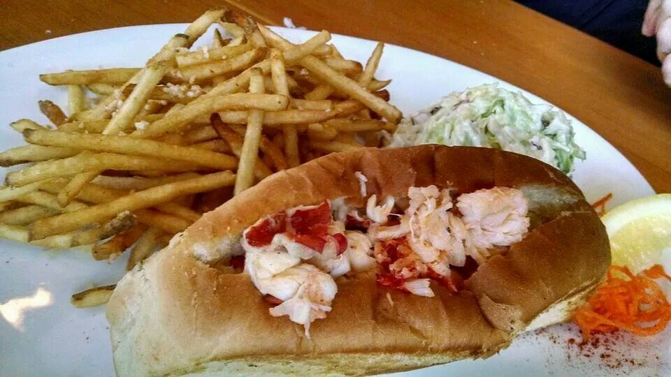 Hawthorne lobster houseportland lobster house food