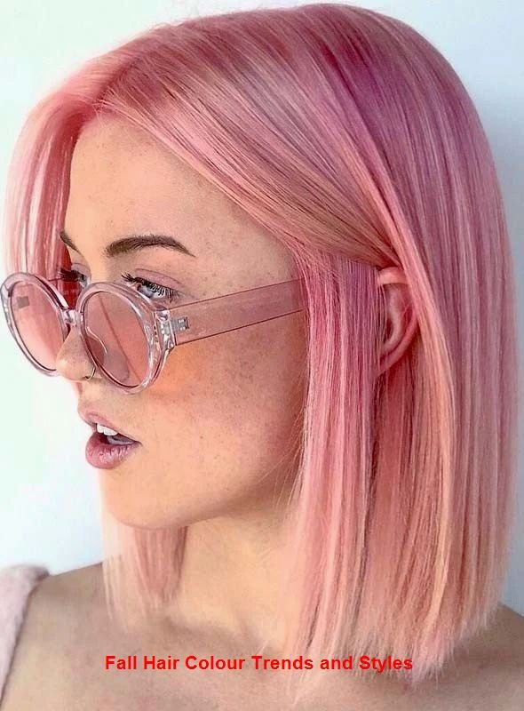 Fall Hair Colour Trends and Styles #trendyhairs #hairstyle #fallhaircolorforbrunettes