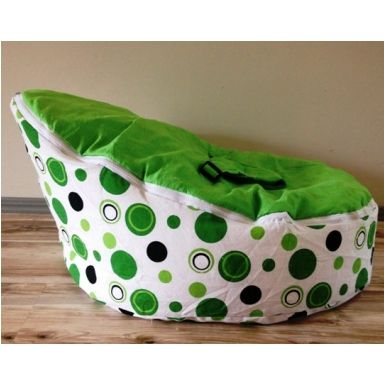 GREEN BABY BEAN BAG