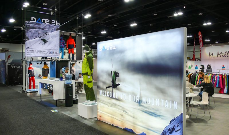 Exhibition Booth Sia : Exhibits and trade show booths custom built and branded sia snow