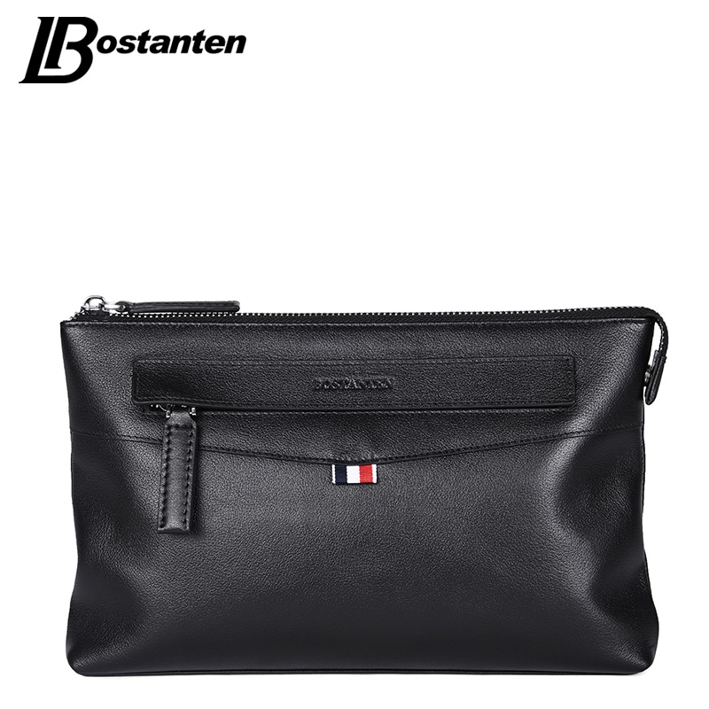 29.99$  Watch now - http://alicea.shopchina.info/1/go.php?t=32807239017 - Bostanten High Quality 2017 Business Long Men Wallets Genuine Leather Clutch Bag Brand Men Purse Cell Phone Card Holder Wristlet  #buyonline