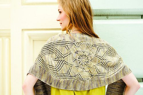 Angelica is a lace panel tie-front wrap.