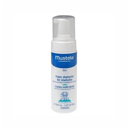 Mustela Bebe Foam Shampoo for Newborns (has amazing