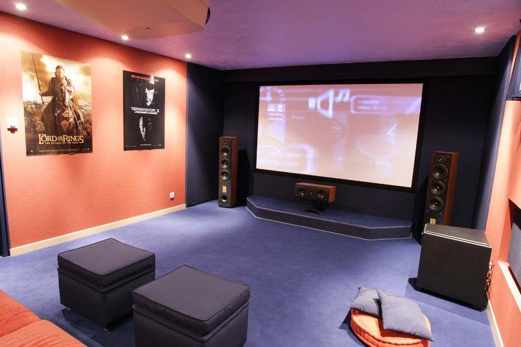 album 20 photos de salle home cin ma pour r ver un peu beaucoup passionn ment cinema. Black Bedroom Furniture Sets. Home Design Ideas