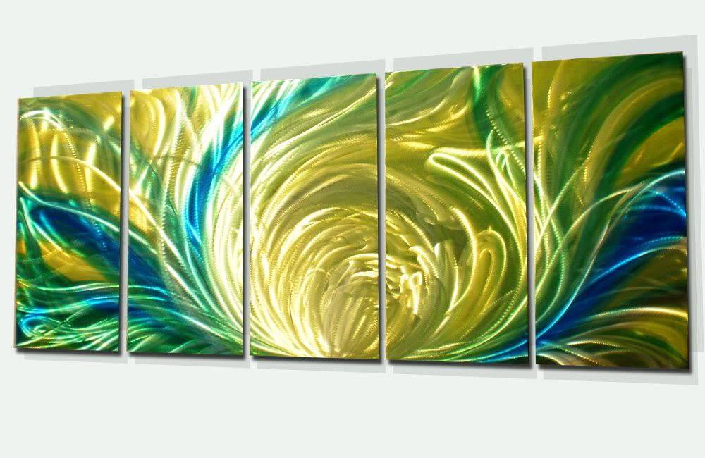 Chrysanthemum-Modern Abstract Decor Metal Wall Art Panels by Donghua ...