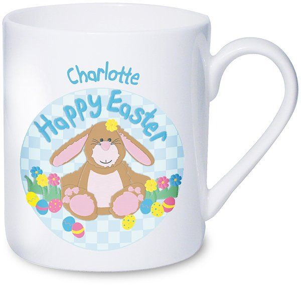 This cute Easter bunny design mug.