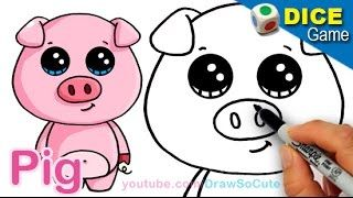 Media Tweets By Draw So Cute J44945795 Cute Drawings Pig Cartoon Cartoon Drawings