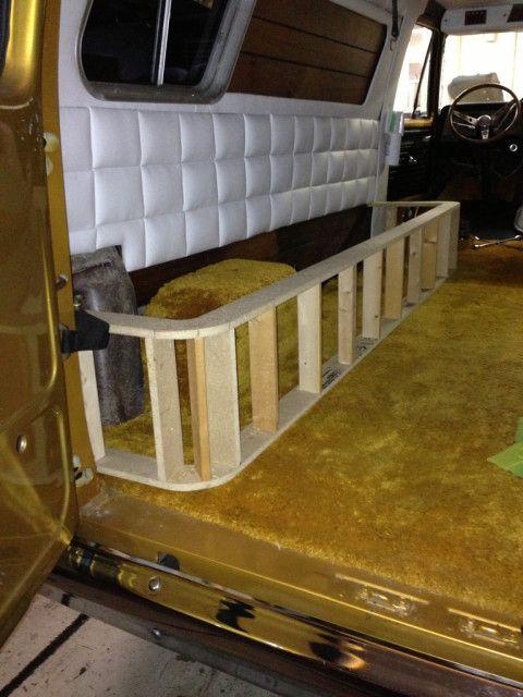 Sitzbank-Fundament