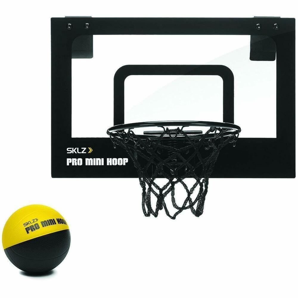 Advertisement Ebay Sklz Pro Mini Basketball Hoop With Ball For Kids Adults Over The Door Games Mini Basketball Hoop Mini Basketballs Basketball Hoop