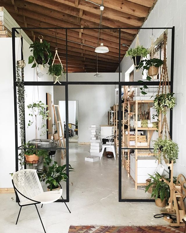 Decorations:Eco Friendly Interior Design With Plant Decor And Hanging Metal  Room Divider Modern Hanging Room Dividers To Maximize Homeu0027s Space