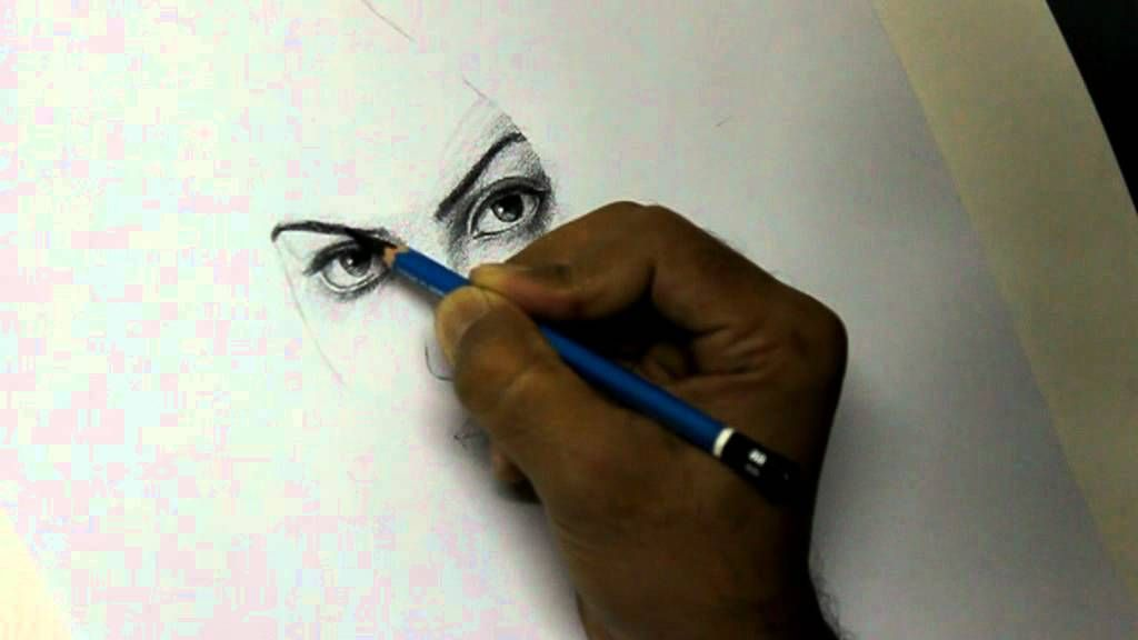 How to draw a pretty face by artist alamgir drawing artistpencil