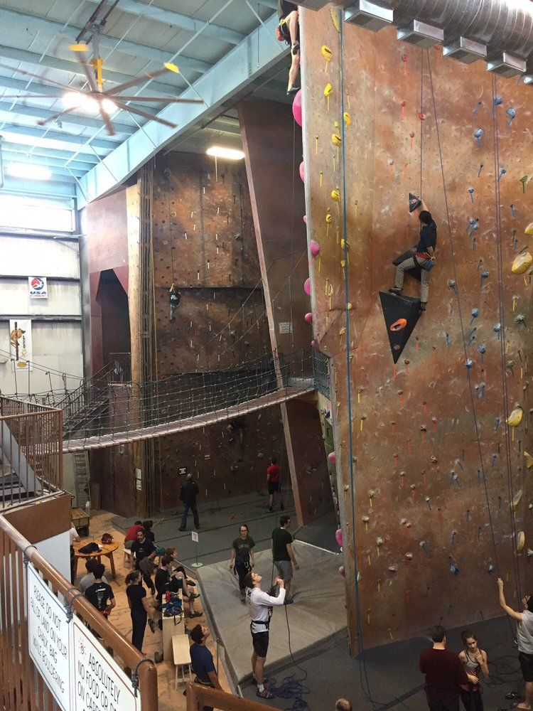 Rock climbing in ann arbor