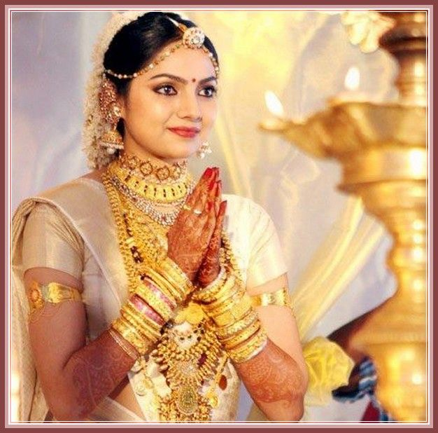 Kerala Wedding Hairstyle: Hairstyles For Hindu Wedding - Google Search