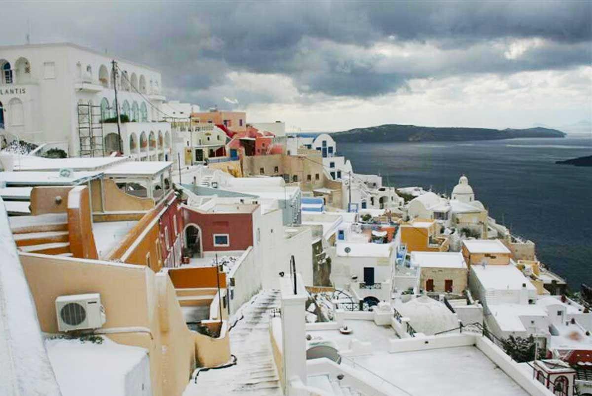 Santorini Weather September October May December Santorini