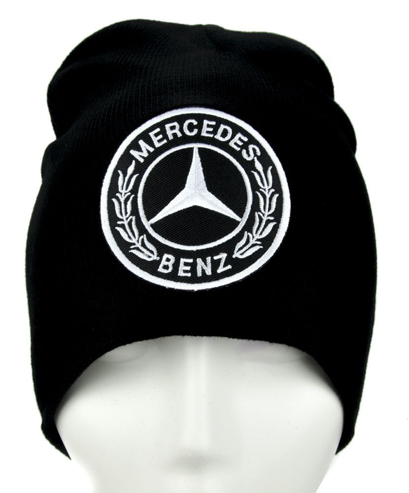Mercedes Benz Beanie Alternative Clothing Knit Cap Luxury Car ... e173c6429cf