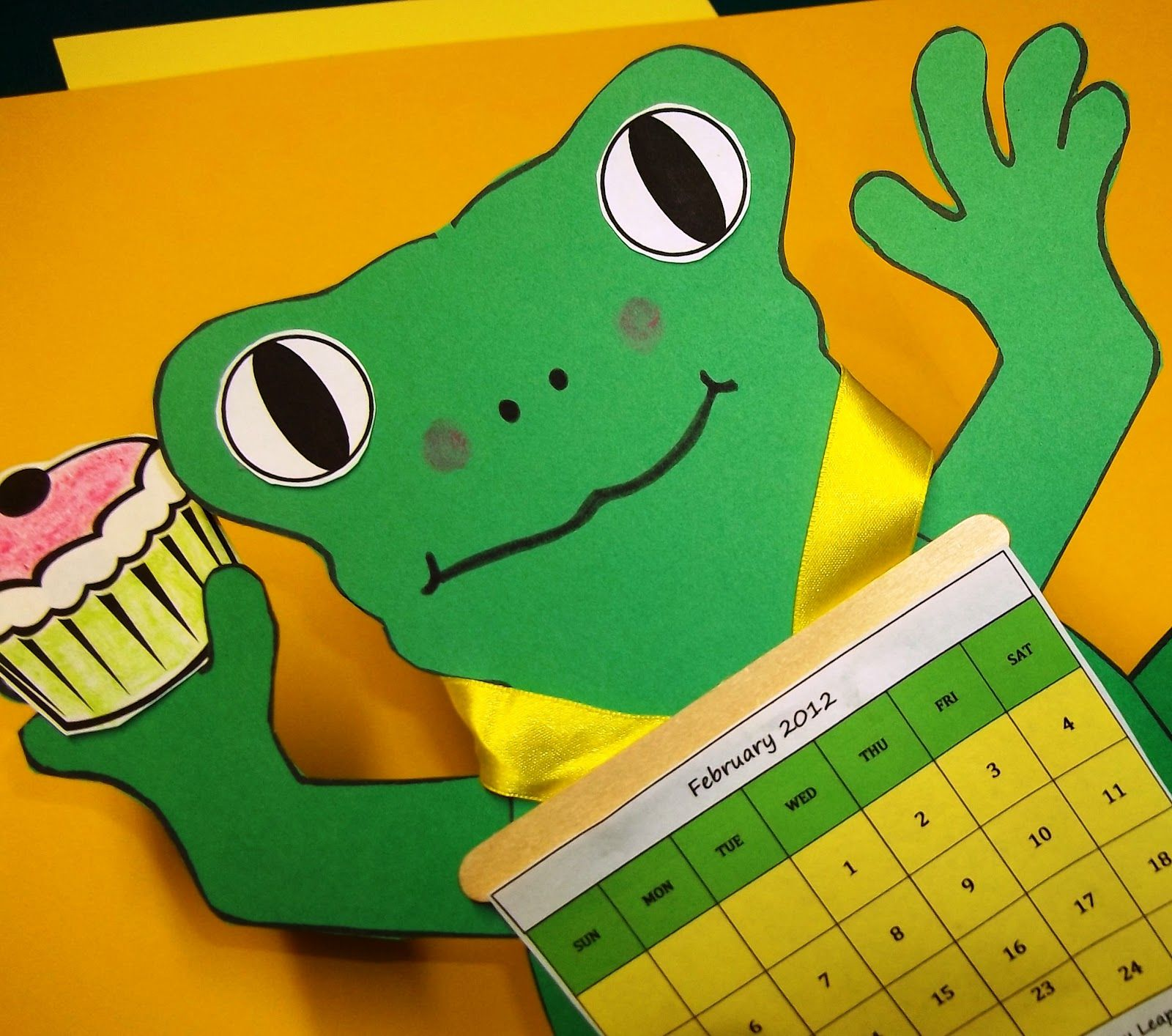 Leap Day Crafts For Kids Leap Frogs Glyphs And Leap Day