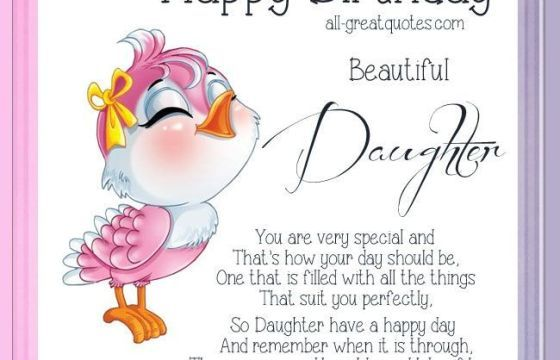 Cute birthday cards messages for daughter hairstylewomens pinterest cute birthday cards messages for daughter bookmarktalkfo Images