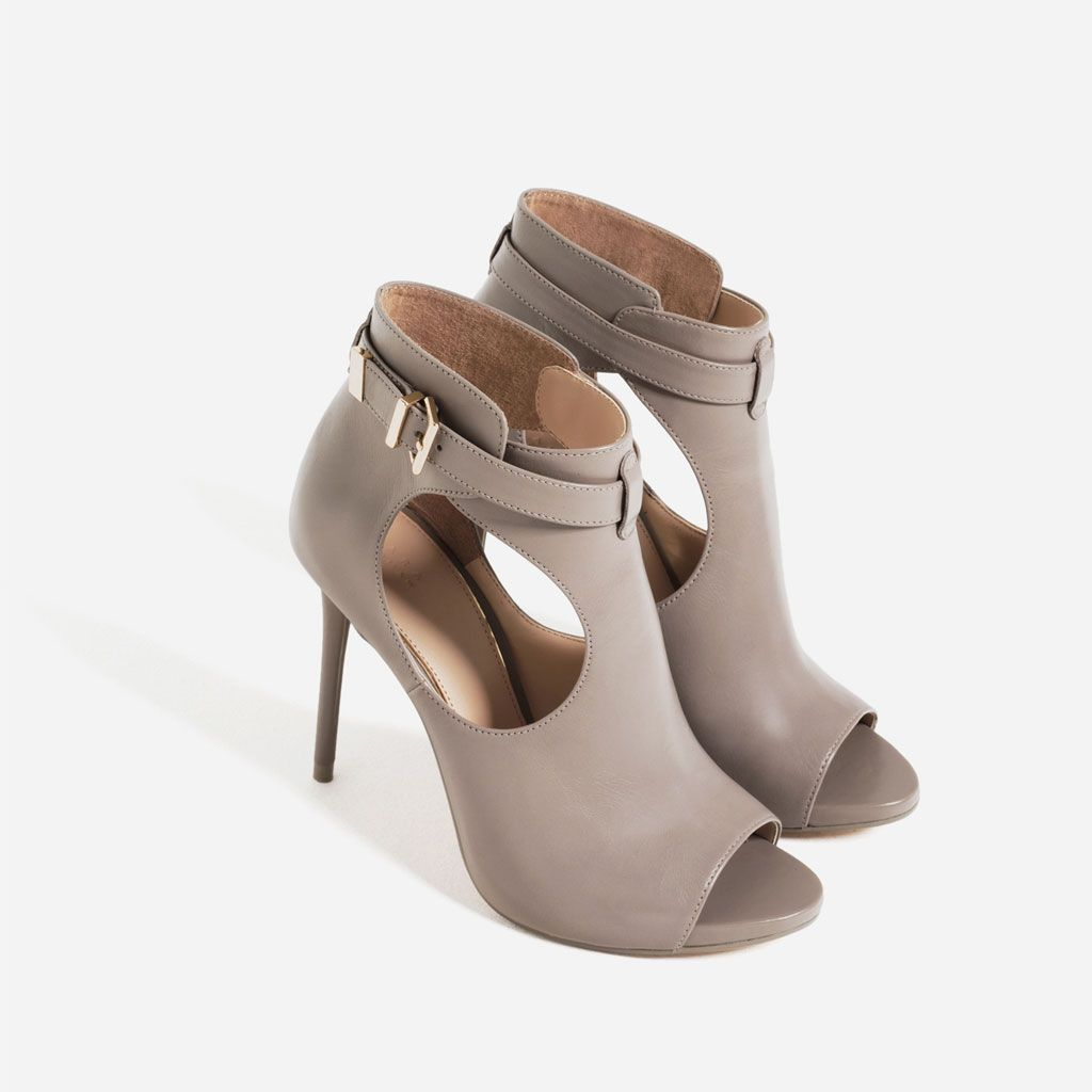 PEEP TOE BOOT-STYLE SANDALS-View all-SHOES-WOMAN | ZARA United