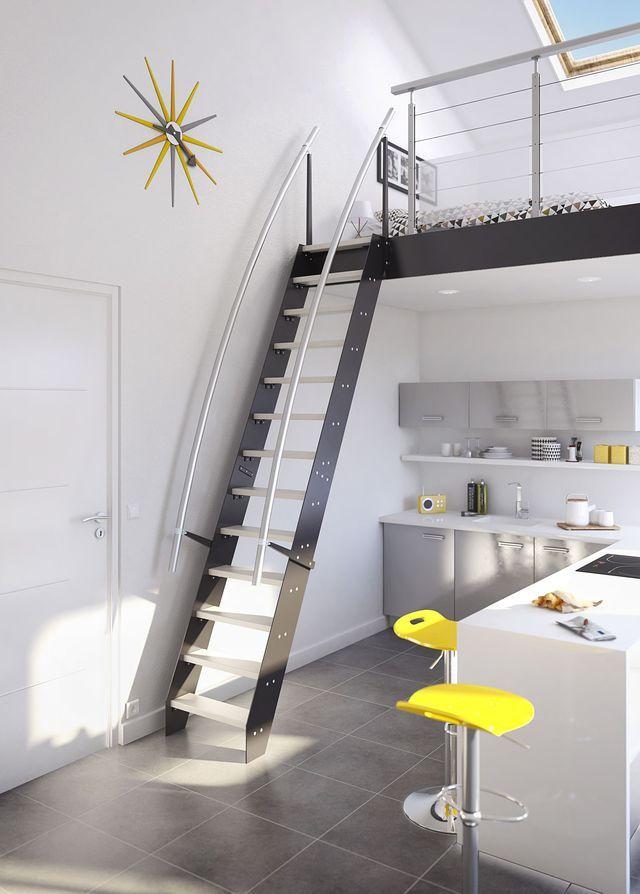 Escalier  aménager un escalier chez soi Apartments and Kitchens - monter un garage en bois
