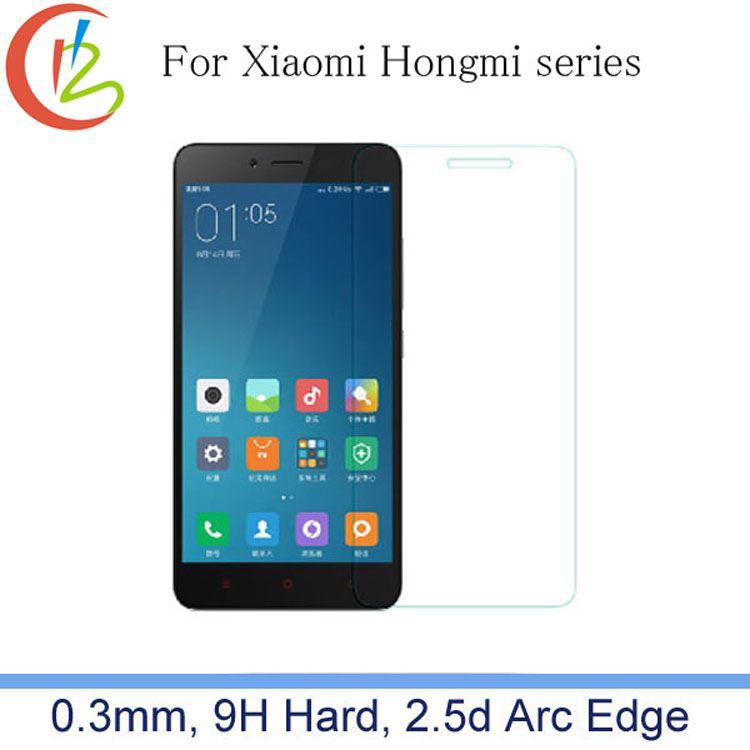 2.5d 0.3mm 9 h premium gehard glas voor xiaomi note 3/redmi Note 2/Mi4c/Mi4 Multi Telefoon Screen Explosieveilige Protector Film