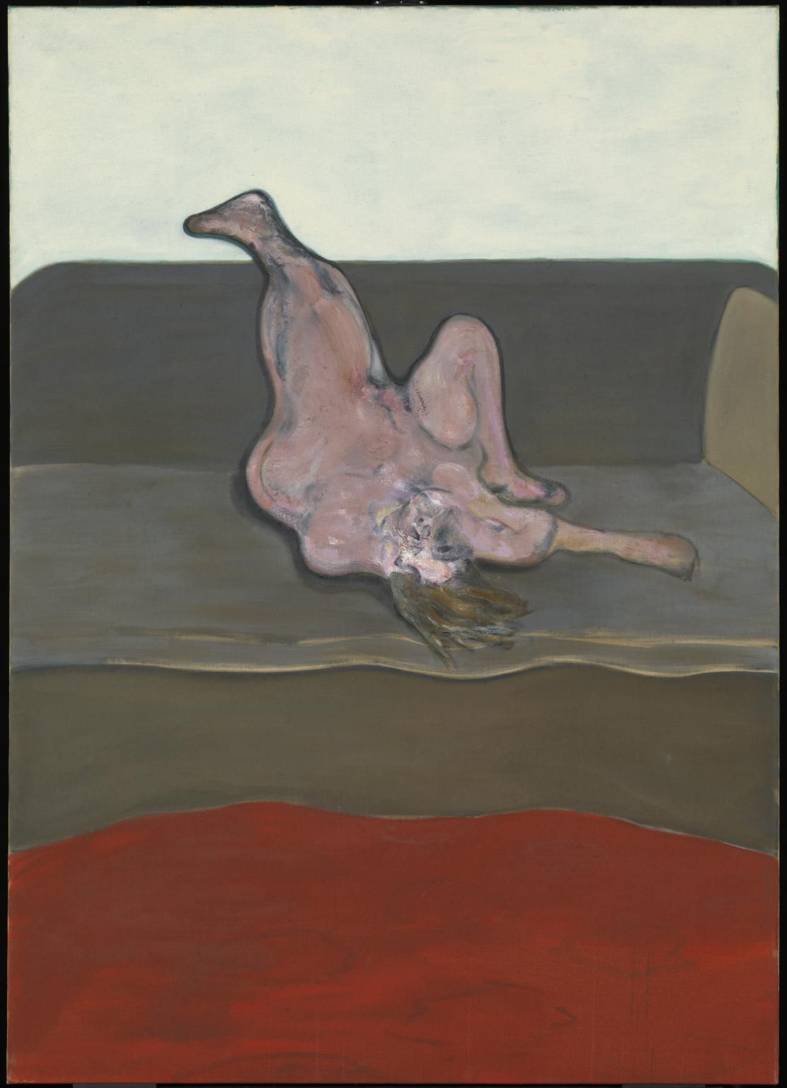 Francis Bacon Reclining Woman 1961 Estate Of
