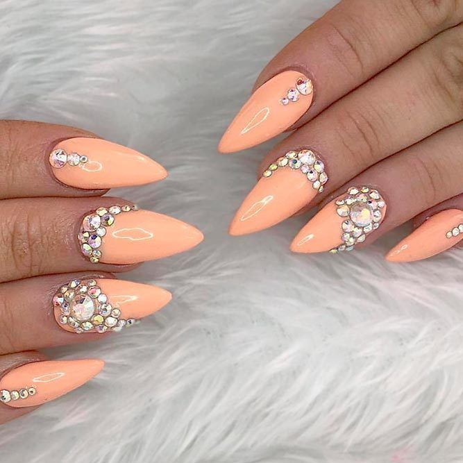 Photo of Lovely Designs for Almond Nails You Will not Resist – New Nail Models An almond …
