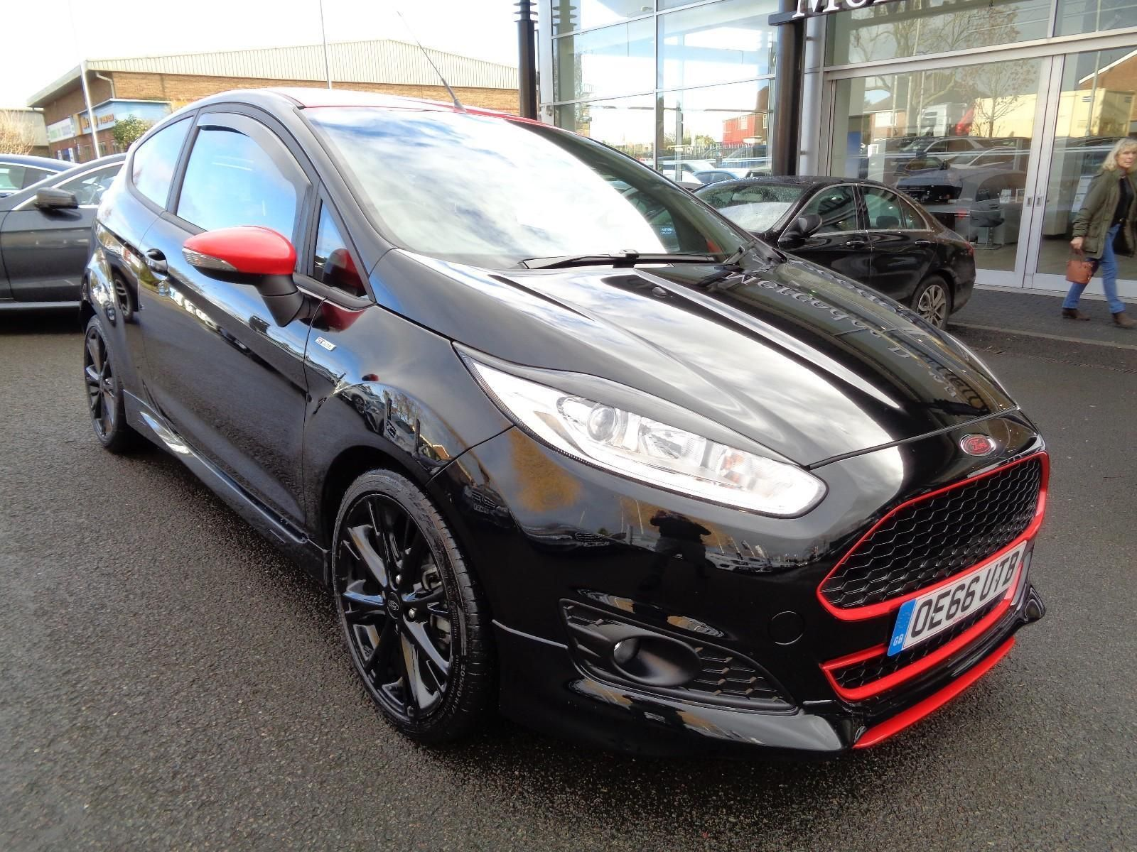 Check Out This Fast Ford Ford Fiesta 1 0t 140ps Ecoboost S S St Line Black Edition Black Edition Ford Fiesta Ford
