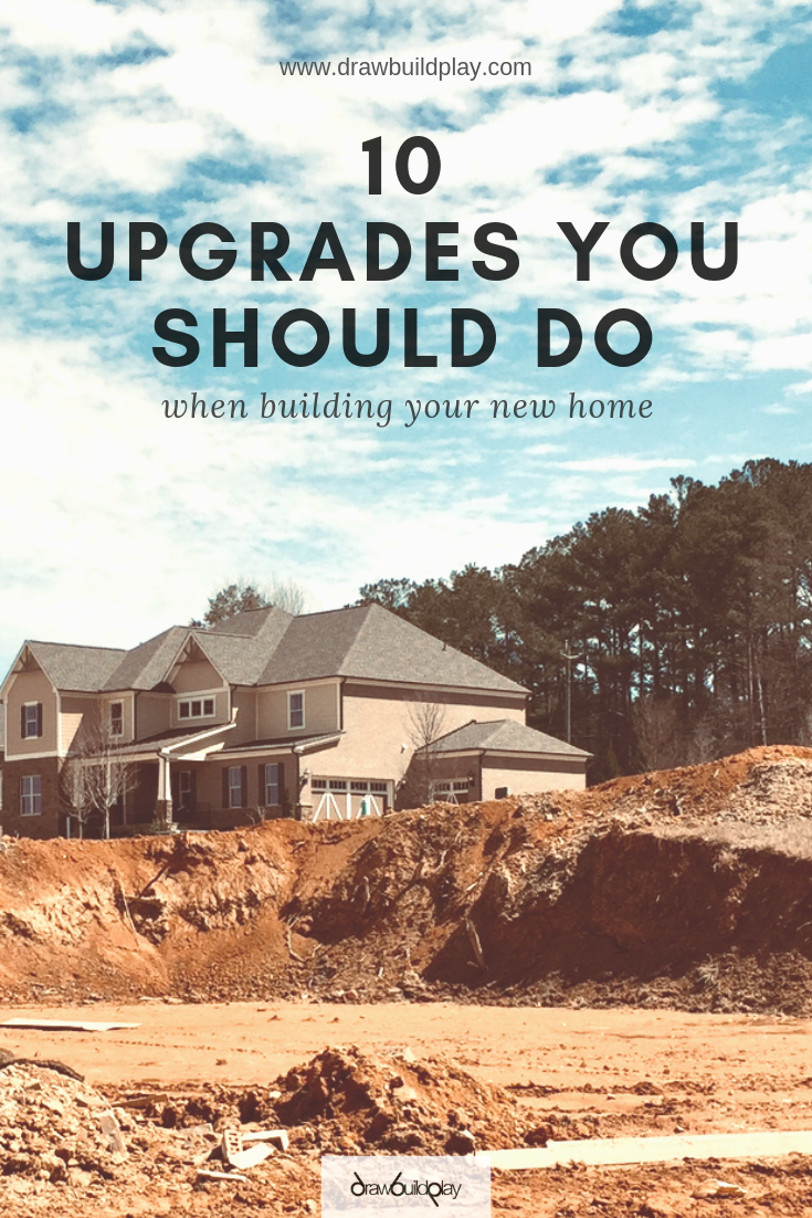 Top 10 Builder Upgrades You Should Do #buildingahouse