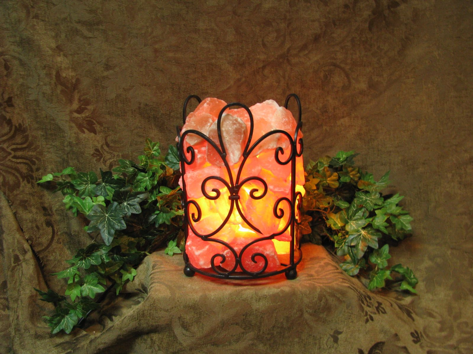 Real Salt Lamp Best Himalayan Salt Lamp From Rusted Buffalounique Designsreal Salt Inspiration Design