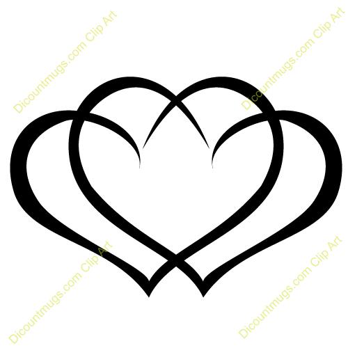 Clipart 12059 Interlocking Hearts Interlocking Hearts Mugs T Shirts Picture Mouse Pads More Mit Bildern Tattoo Mutter Schwester Tattoos Kleine Herz Tattoos