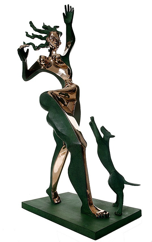 Bronze sculpture by Timo Solin