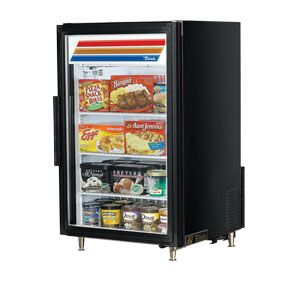 Black True Gdm 7f Countertop Glass Door Merchandiser Freezer 7