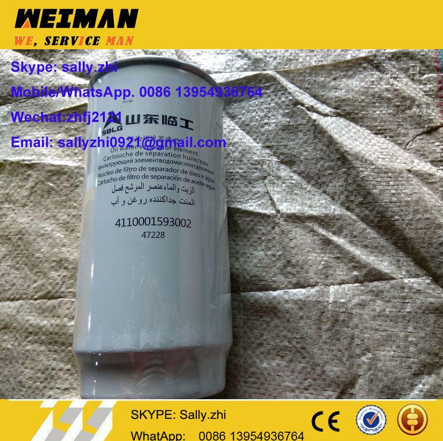 original SDLG Water Separator, 4110001593002, SDLG spare