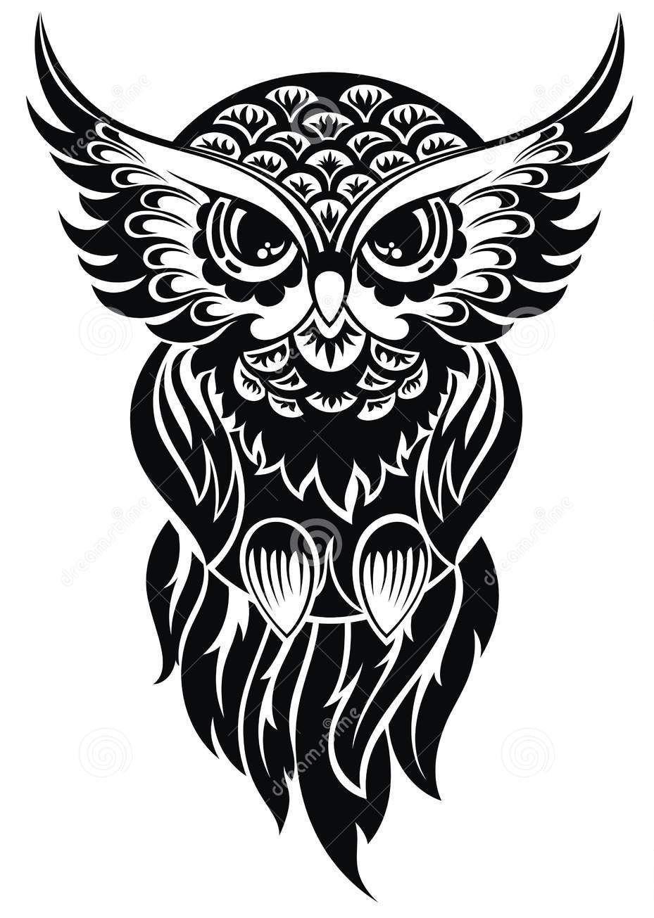 Pin By Marye Garibay On Inked Owl Tattoo Design Tribal Owl Tattoos Owl Tattoo