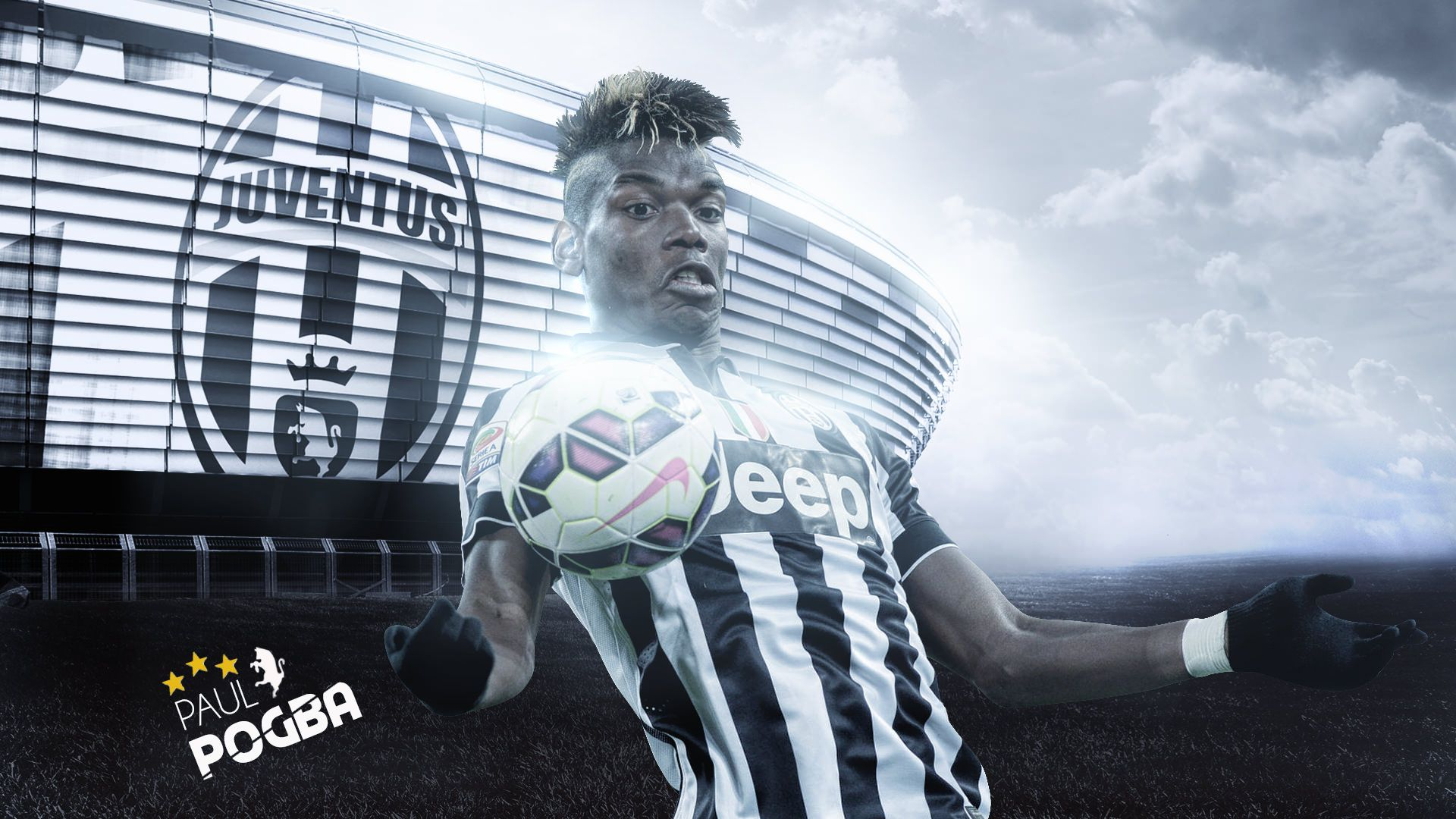 Paul Pogba Juventus 2015/2016 Wallpaper  Football