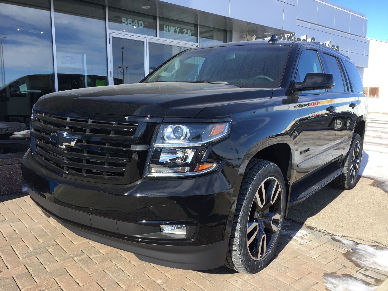 Fully Loaded 2018 Tahoe Premier Chevy Chevrolet Vehicles