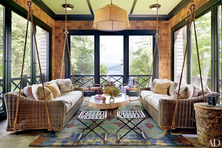 Inside Thom Filicia\'s Version of an Adirondack \'Great Camp ...