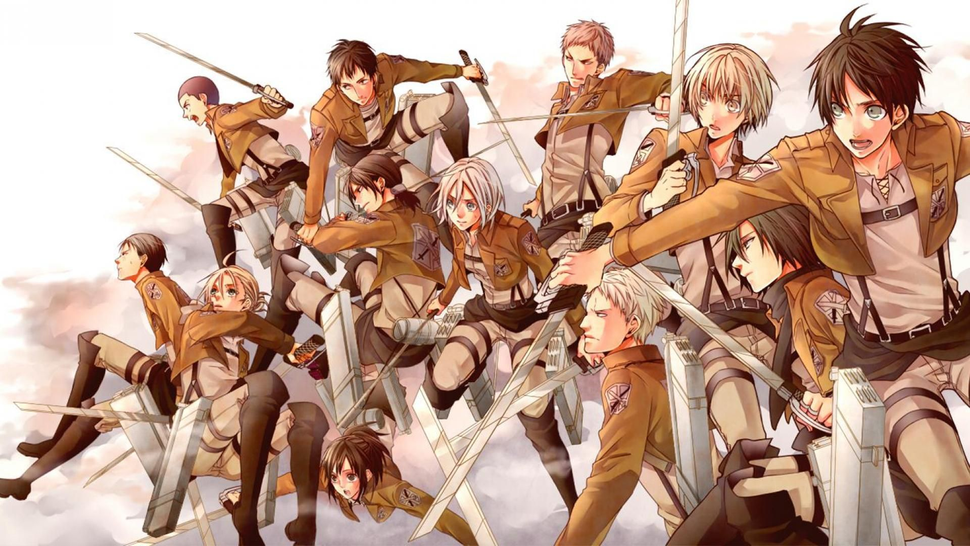 Attack On Titan Wallpaper Hd 1920x1080 Picture Gallery