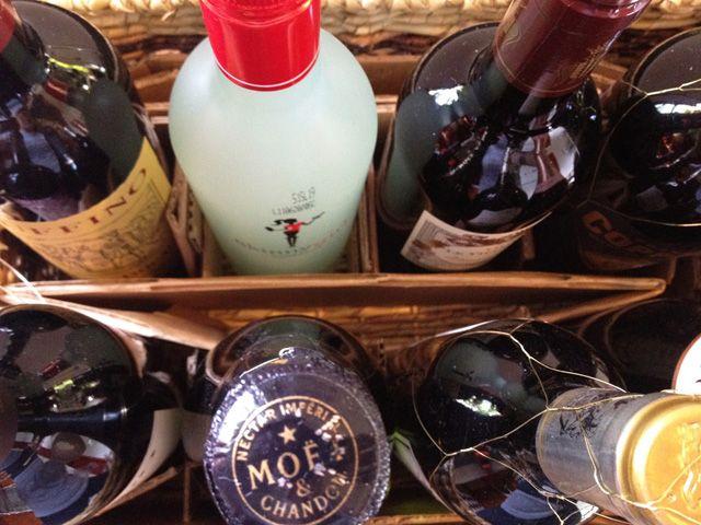 Wine Poem Basket - Bridal Shower Gift