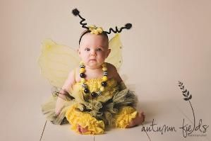 Bumble Bee Halloween Costume -  Tutu Cute  Bumble Bee Costume - Girl Toddler Baby  sc 1 st  Pinterest & Bumble Bee Halloween Costume -