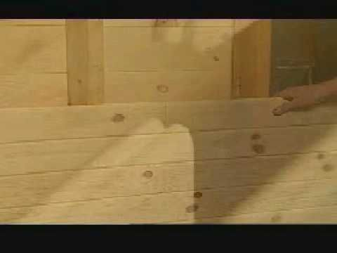 Video On How To Install Knotty Pine Tongue And Groove Paneling To Make A  Wall.