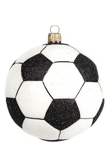 Soccer Ball Ornament | Nordstrom - Soccer Ball Ornament Nordstrom { Christmas Ornaments } Soccer