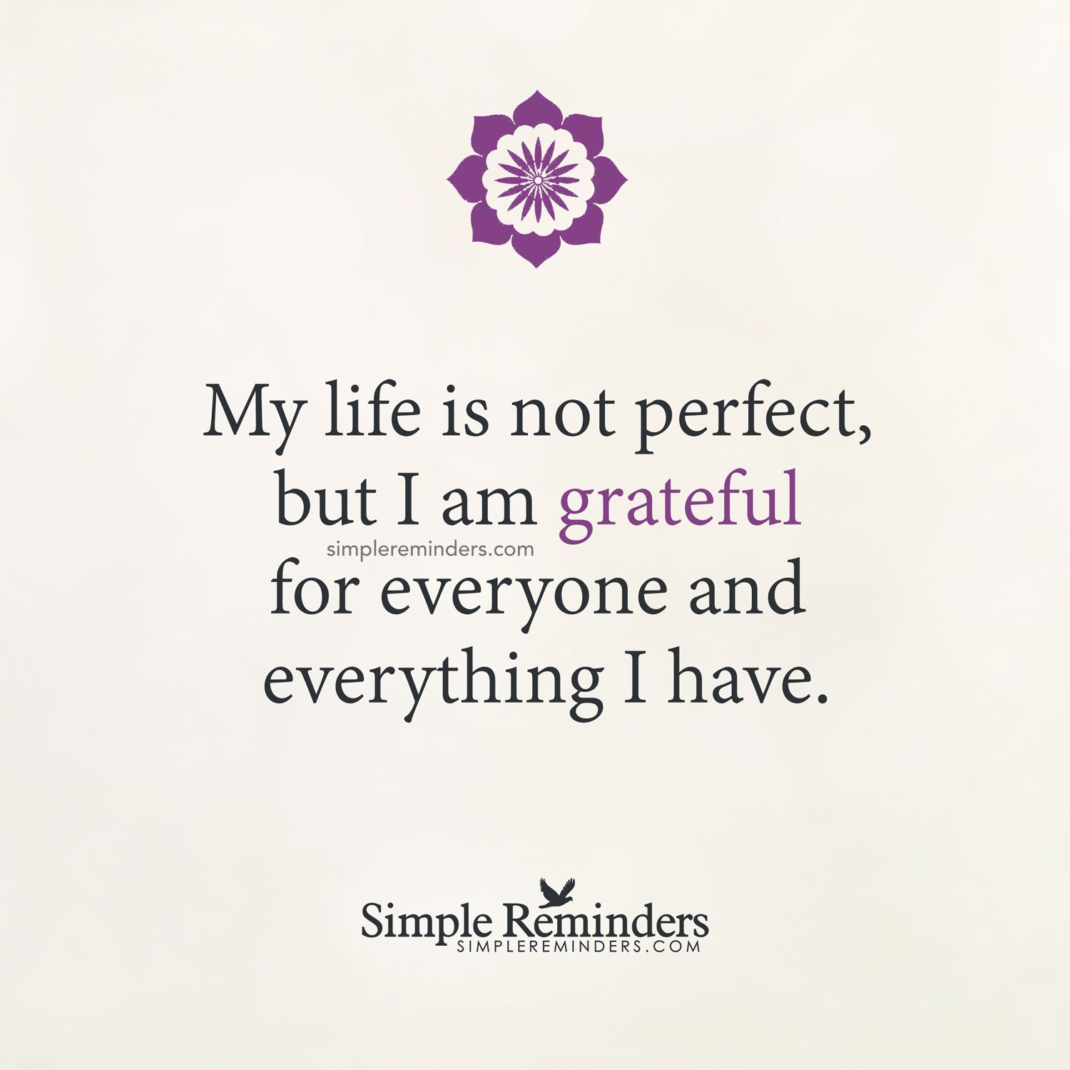 I Am Grateful For Everything By Unknown Author Perfect Life Quotes Quotes Inspirational Positive Inspirational Quotes About Love