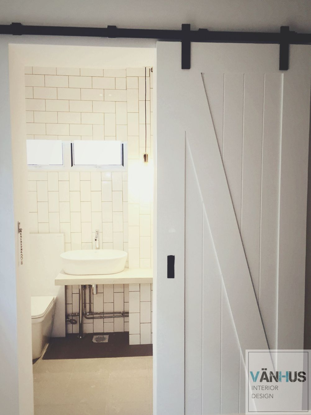 Hdb Barn Door Bathroom Subway Tiles Shower Doors Room Door Design Shower Door Designs