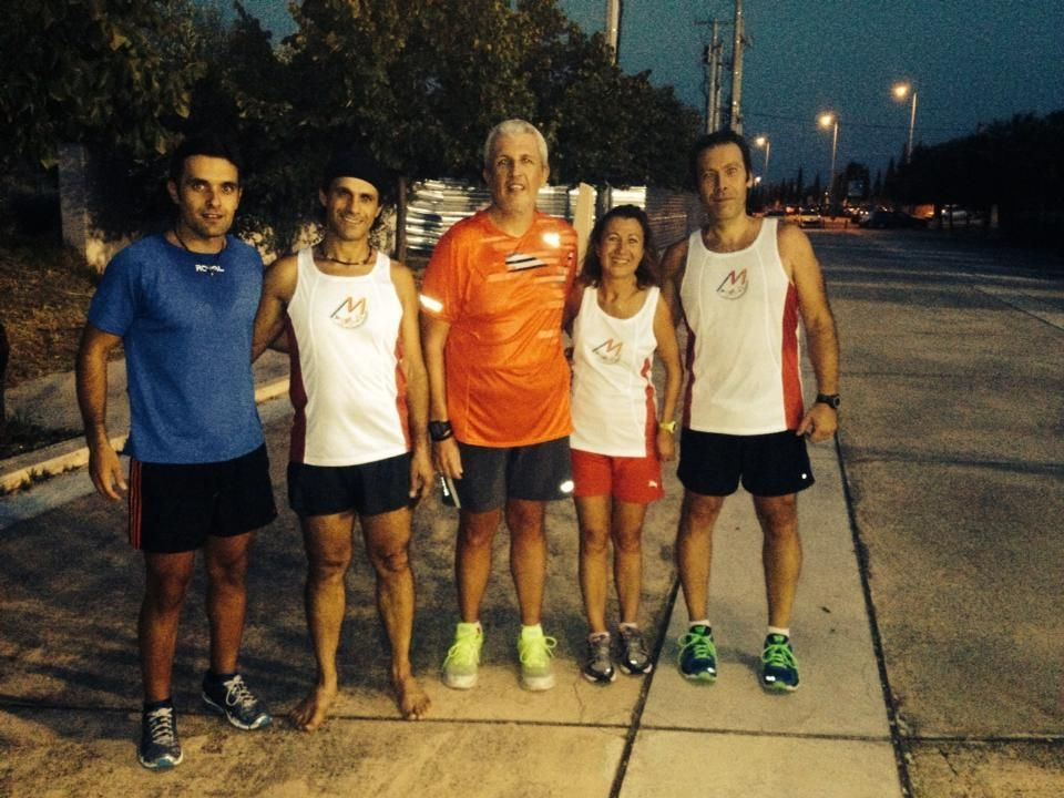 APS Miltiades Training (100914) Running Running