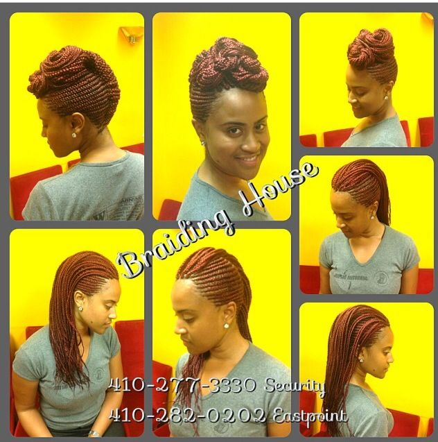 Cornrows by the Braiding House in Baltimore. African Hair ...