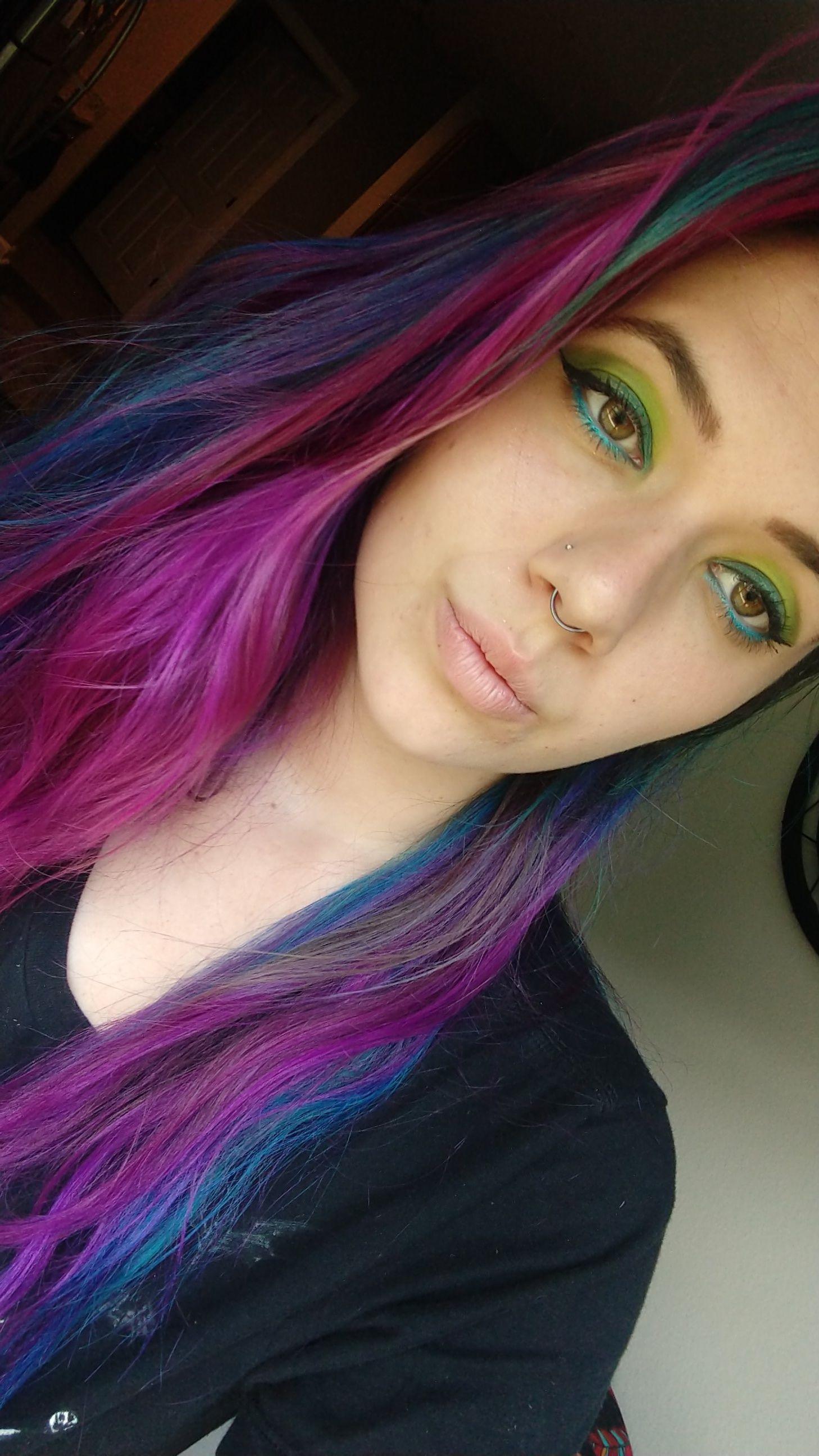 Green / blue look https//ift.tt/2Ni4P88 Belleza