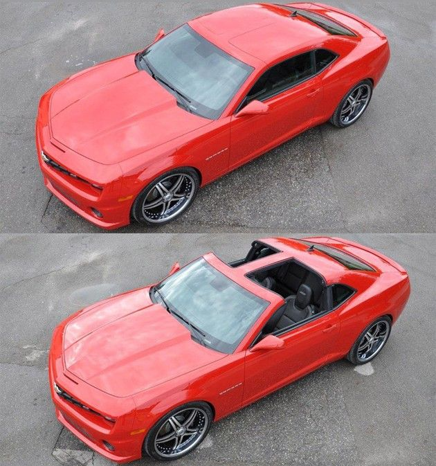 T Top Cars >> Drop Top Customs Creates Chevrolet Camaro T Top Cars Other
