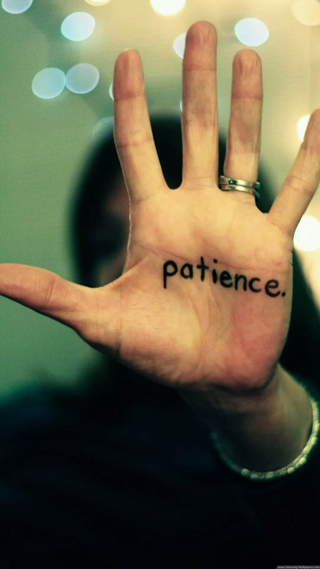 Patience Is A Virtue iPhone 6 Plus HD Wallpaper Patience