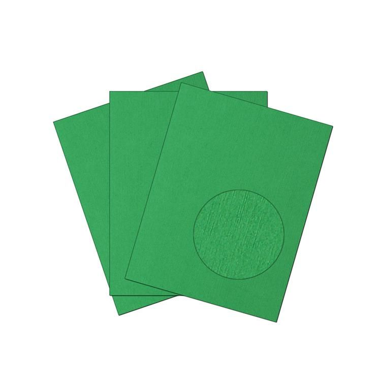 Posh Grass Green Dungaree Cardstock 105lb - The Posh Grass Green Dungaree cardstock is a dark, lush green color and it 105lb in weight. It has a uniquely patterned Dungaree textured surface in which the pattern of the textured surface flows i...